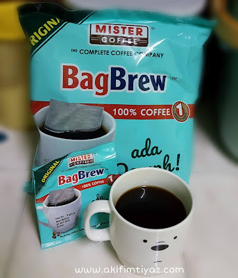 BagBrew 100% Coffee Original