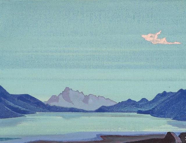 Николай Рерих - Тибетские озёра