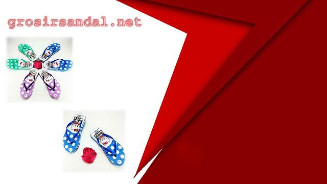 sandal anak tanggung | sandal motif | sandal spon