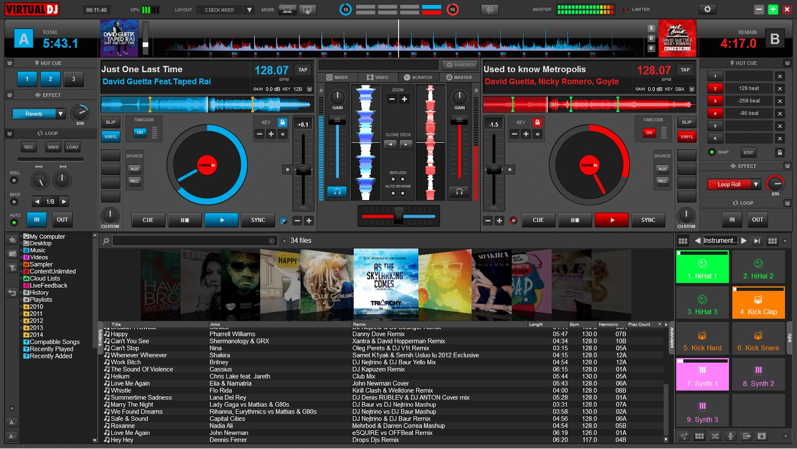 Virtual DJ 2018  v8.3 Build 5044