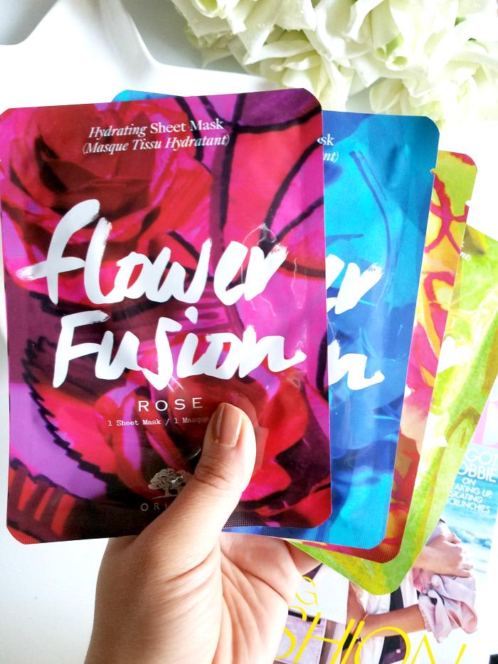 Review: ORIGINS - Flower Fusion Sheet Masks - Madame Keke Luxury Beauty Lifestyle Blog 2