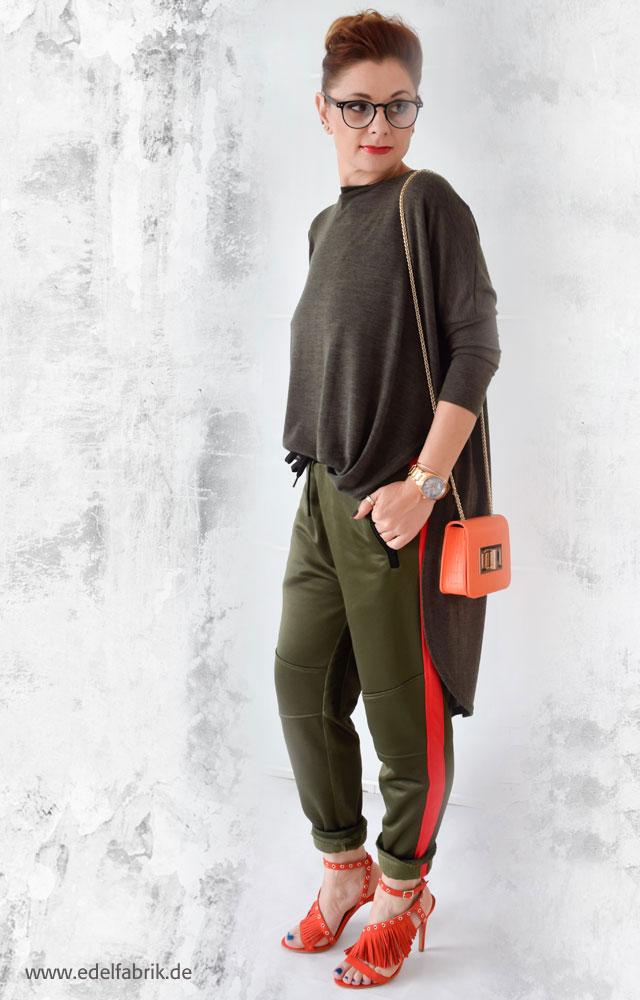 die Edelfabrik, Tipps für einen Look mit Jogginghose und High Heels