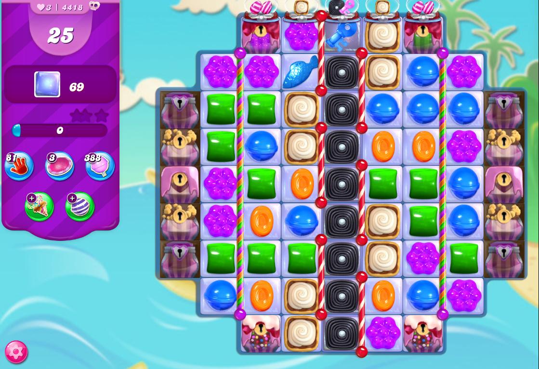 Candy Crush Saga level 4418