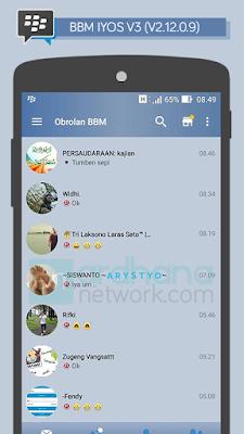 Preview BBM iOS 6 V3