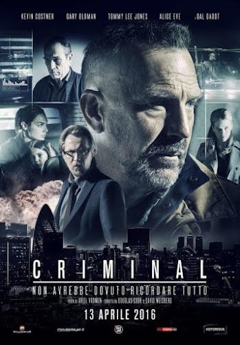 Criminal (BRRip 1080p Dual Latino / Ingles) (2016)