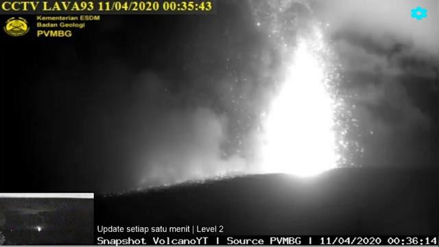 LIVE Video Detik-detik Gunung Krakatau Meletus