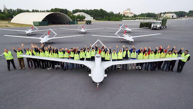 drone, turki, teknologi, terbaik, senjata, langit, tb2, karayel, angka-s