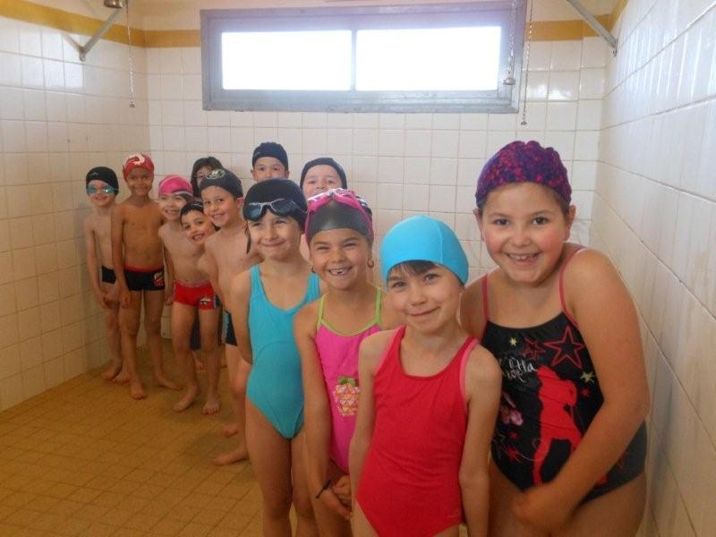 Ecole ste marie les cp terminent le cycle de piscine - Piscine oloron sainte marie horaires ...