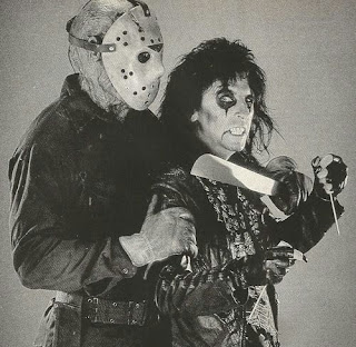 High Noon Records Alice Cooper The Man Behind The Mask From Friday The 13th Part 6 Jason Lives