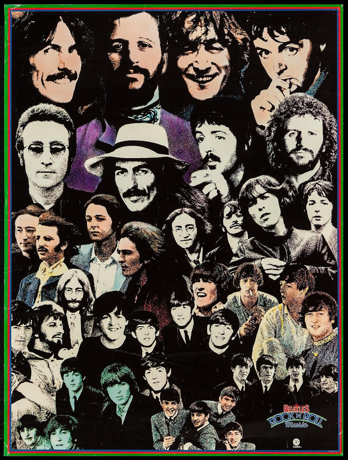 Pop Culture Safari!: Beatles promotional poster for Rock'n ...