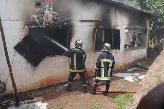 Incendie ce matin dans une maison à Djidjolé.