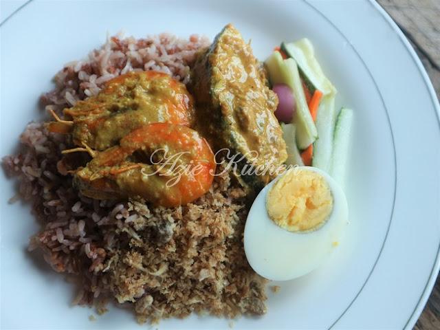 Nasi Dagang Kelantan Menggunakan Periuk Noxxa