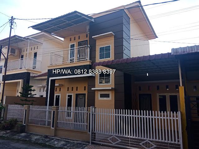 Rumah minimalis 2 lantai di Pasar 1 Setiabudi di Komplek Artha Laksa dekat Sekolah Namira dan USU Medan Sumatera Utara