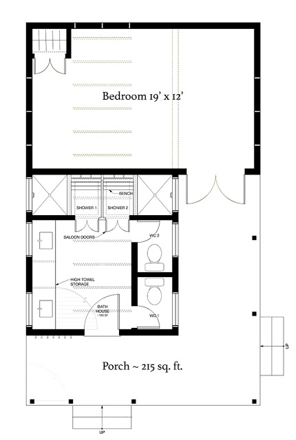 แบบบ้านชั้นเดียวยกพื้นสูง