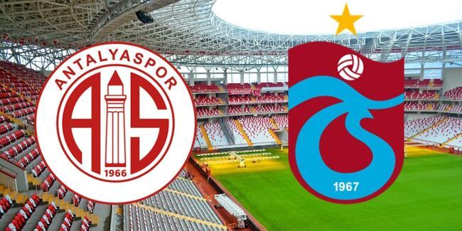 Antalyaspor - Trabzonspor Maçı Online Şifresiz Canlı maç izle