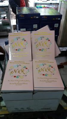Cetak buku doa sebelum pernikahan murah 24 jam