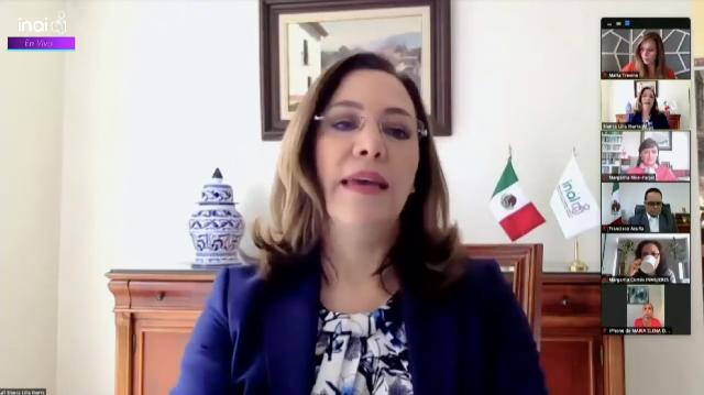 El Pleno del INAI tiene la firme convicción de que hay y habrá cero tolerancia ante cualquier acto de violencia contra las mujeres: Blanca Lilia Ibarra Cadena