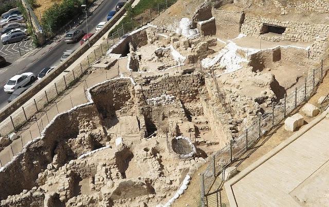 Fabled Crusader moat outside Jerusalem's Old City walls