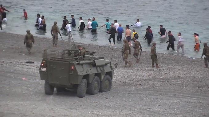 Agentes de Inteligencia de Marruecos y varios terroristas se infiltraron entre los 9.000 migrantes que entraron en Ceuta.