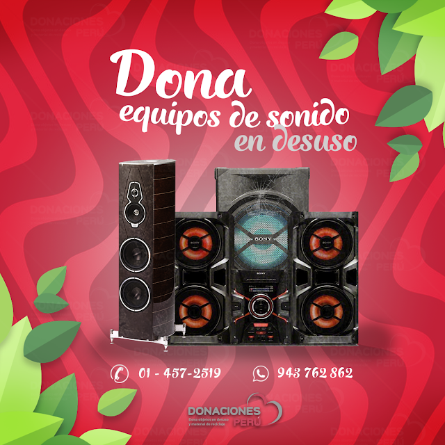Dona_equipos_sonido_Desuso