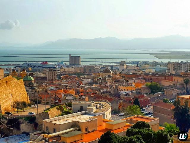 Panoramic view, Cagliari | Sardinia, Italy | wayamaya