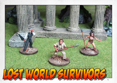 Lemurians and Lost World Survivors for my In Her Majesty's Name Lost World