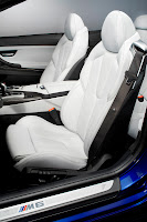 2012 new BMW M6 seat official press picture