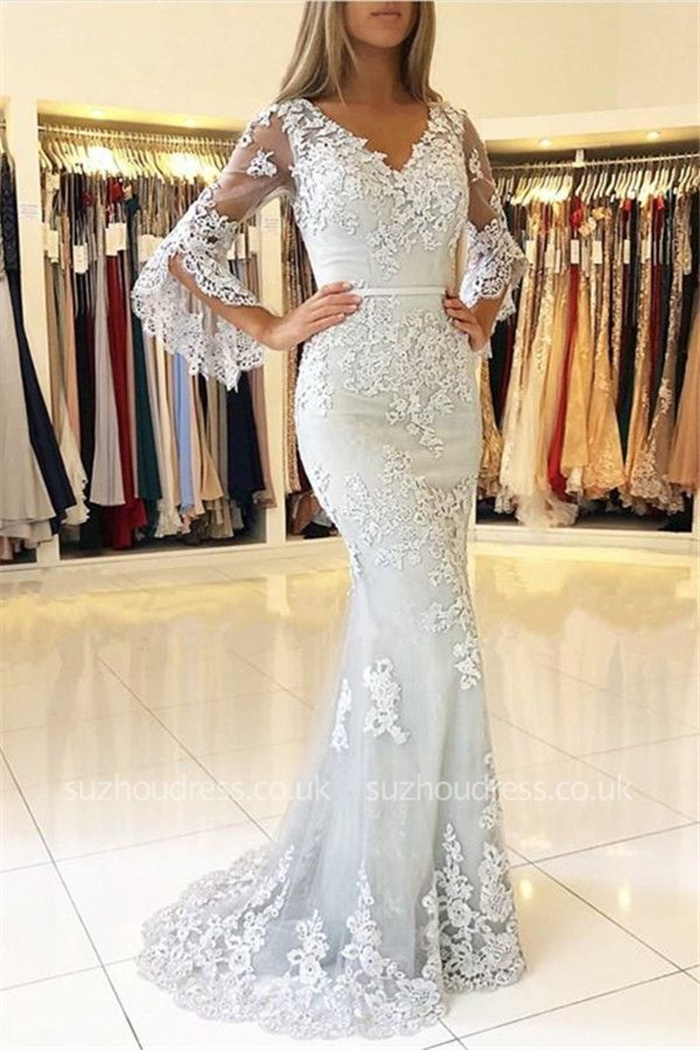 https://www.suzhoudress.co.uk/gorgeous-v-neck-half-sleeves-lace-appliques-mermaid-evening-dresses-g25270?cate_2=42