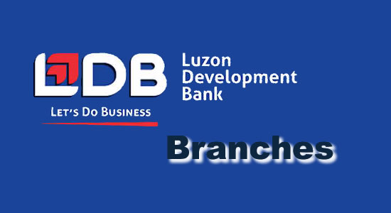 List LDB Branches/ATM Locators