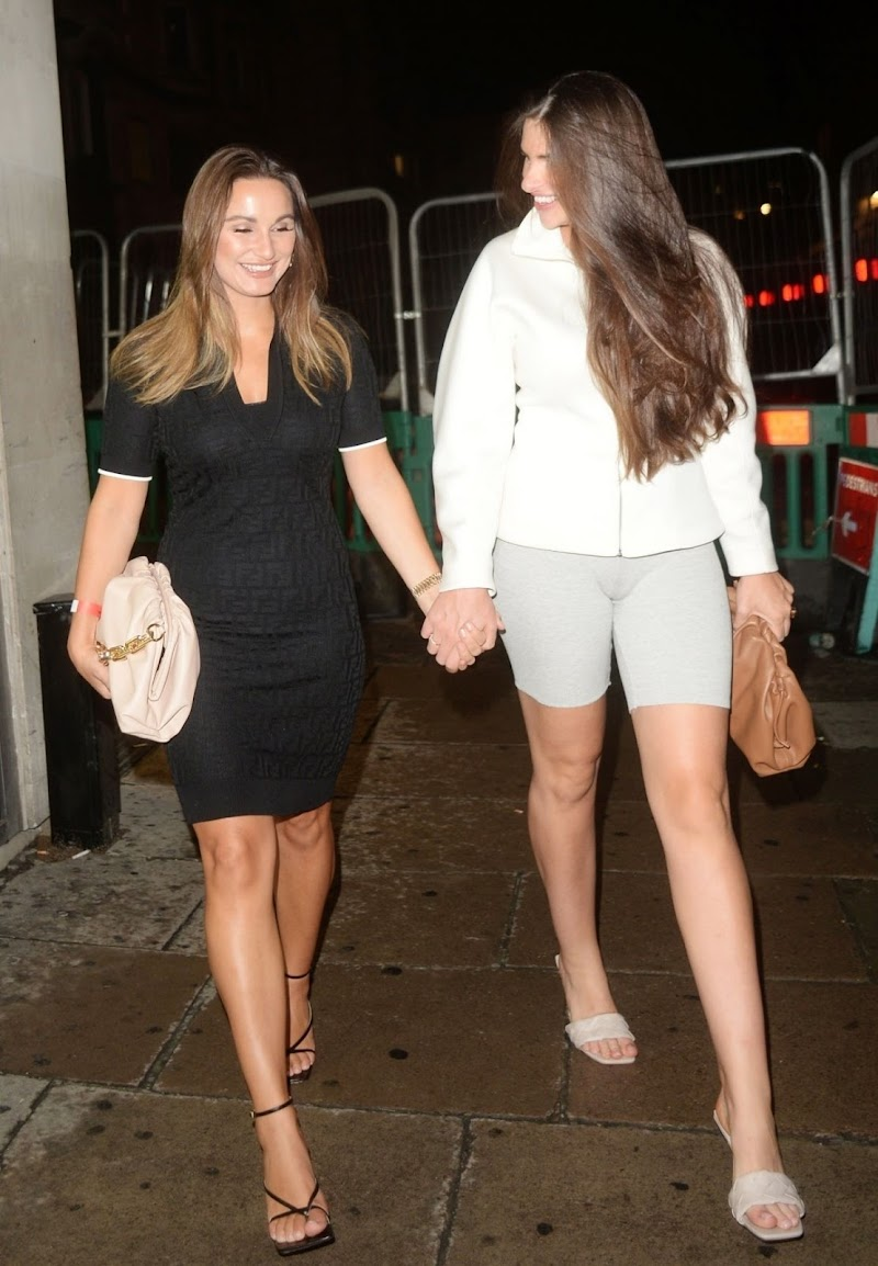 Sam Faiers Arrives at Tape Night Club in London 15 Aug -2020