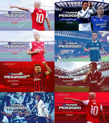 PES 2020 Start Screen Pack V2.0 by MFZ69