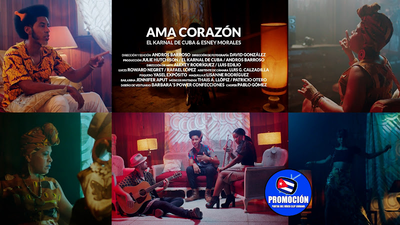 El Karnal de Cuba & Esney Morales - ¨Ama Corazón¨ - Videoclip - Dir: Andros Barroso. Portal Del Vídeo Clip Cubano. Música cubana. Hip Hop. Rap. Cuba.