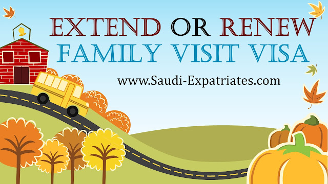 EXTEND OR RENEW FAMILY VISIT VISA