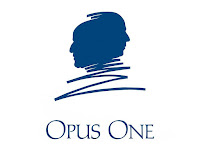 The Opus One logo in Napa, California