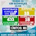 Rebouças registra 18º caso de coronavírus