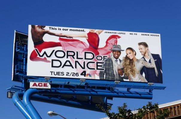 World of Dance season 3 billboard
