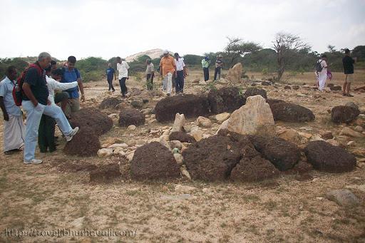 Megalithic Burial sites pudukottai Tamil Nadu