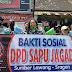 DPD SAPU JAGAD Sragen Gelar Baksos Bagikan Masker dan Hand Sanitizer Gratis Guna Hentikan Penyebaran Covid-19