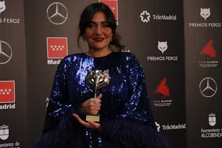 Candela Peña en los Premios Feroz 2020
