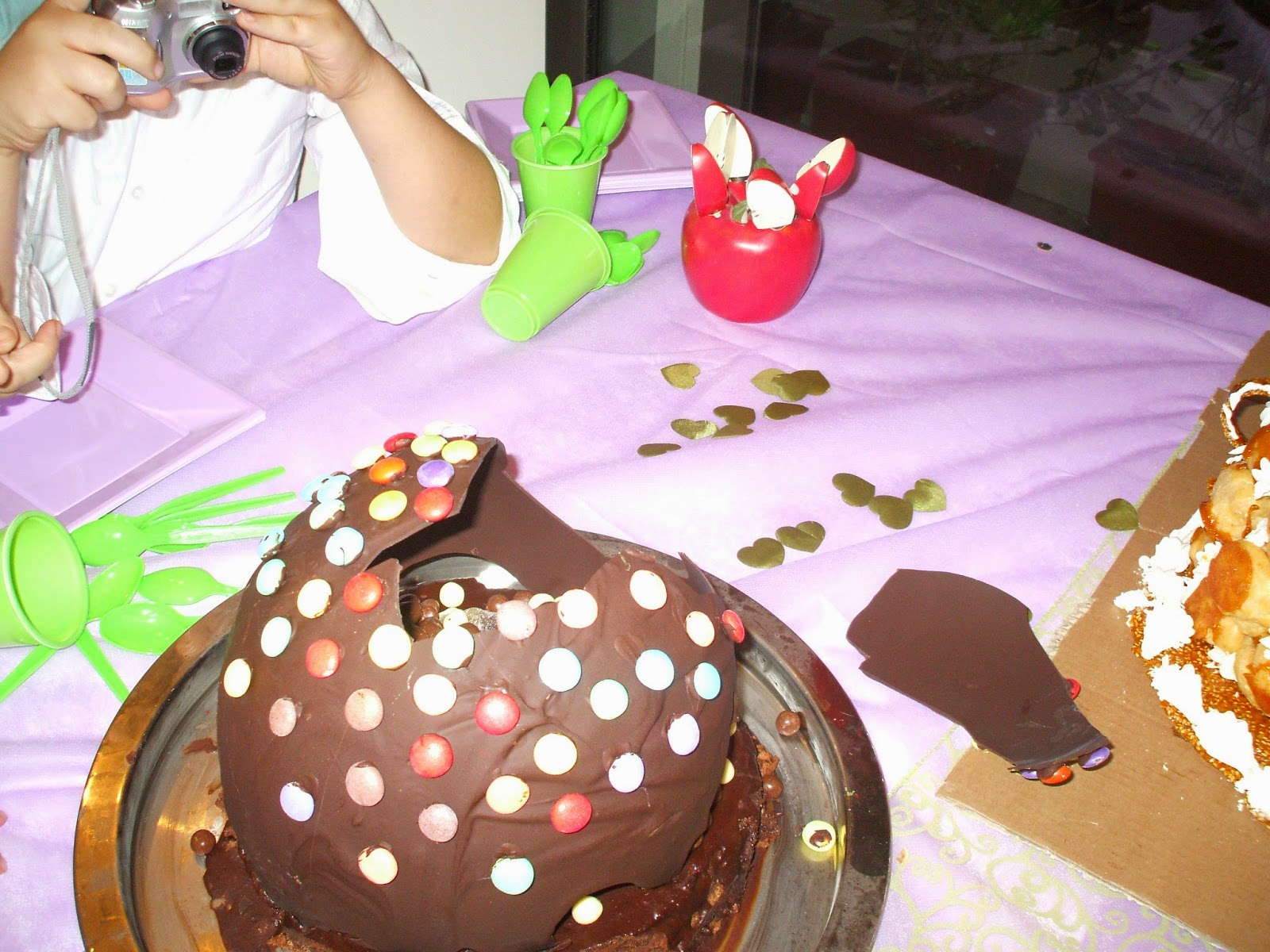 DSCF1228 - עוגה עם הפתעה בפנים