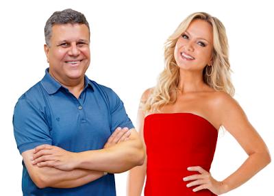 Téo e Eliana (Divulgação/SBT)