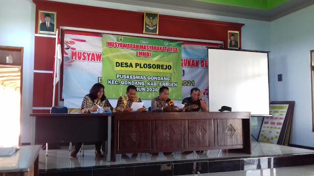 Sosialisasi Musyawarah Masyarakat Desa Plosorejo