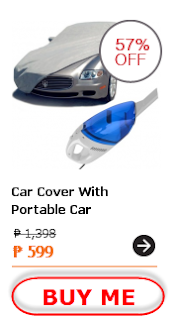 Car Cover With Portable Car Vacuum Cleaner