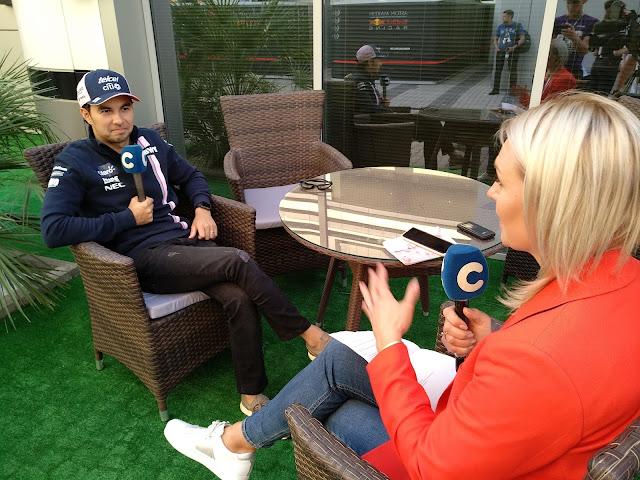 Сержио Перес, FORMULA 1 VTB Russian Grand Prix 2018