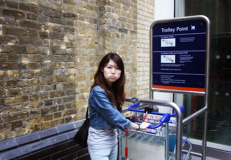 Day One in London: King's Cross & The National Gallery (Trafalgar Square)