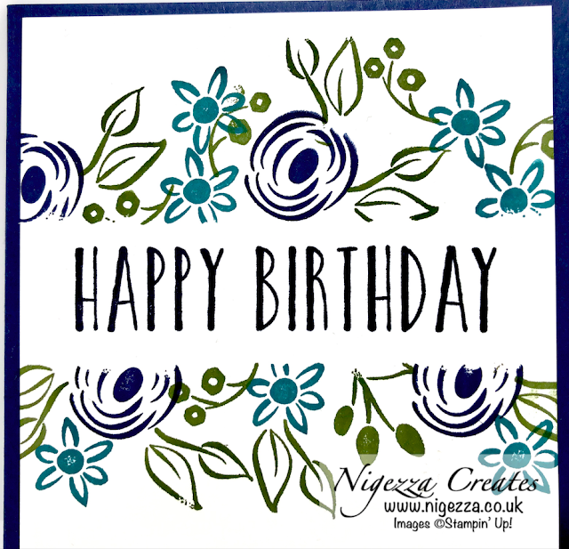 Nigezza Creates with Stampin Up Perennial Birthdays