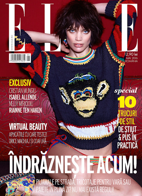 Fashion Model, @ Rianne ten Haken - Elle Romania, May 2016