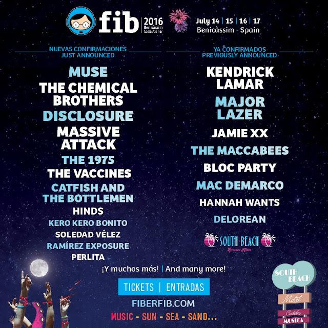 Muse, FIB, 2016, Festival, Concierto, Benicassim, Directo