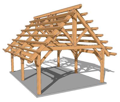 Desain Rangka Atap