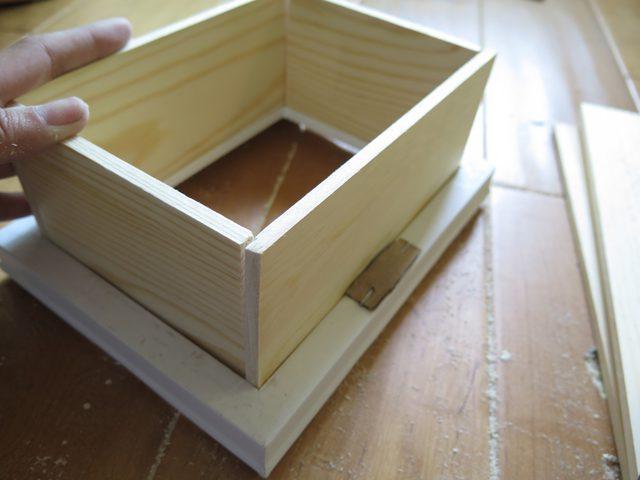 Rahmen zu Regalboxen! Mit ein paar Latten einen Bilderrahmen zu einem Regal umfunktionieren - so leicht geht Selbermachen zu Hause